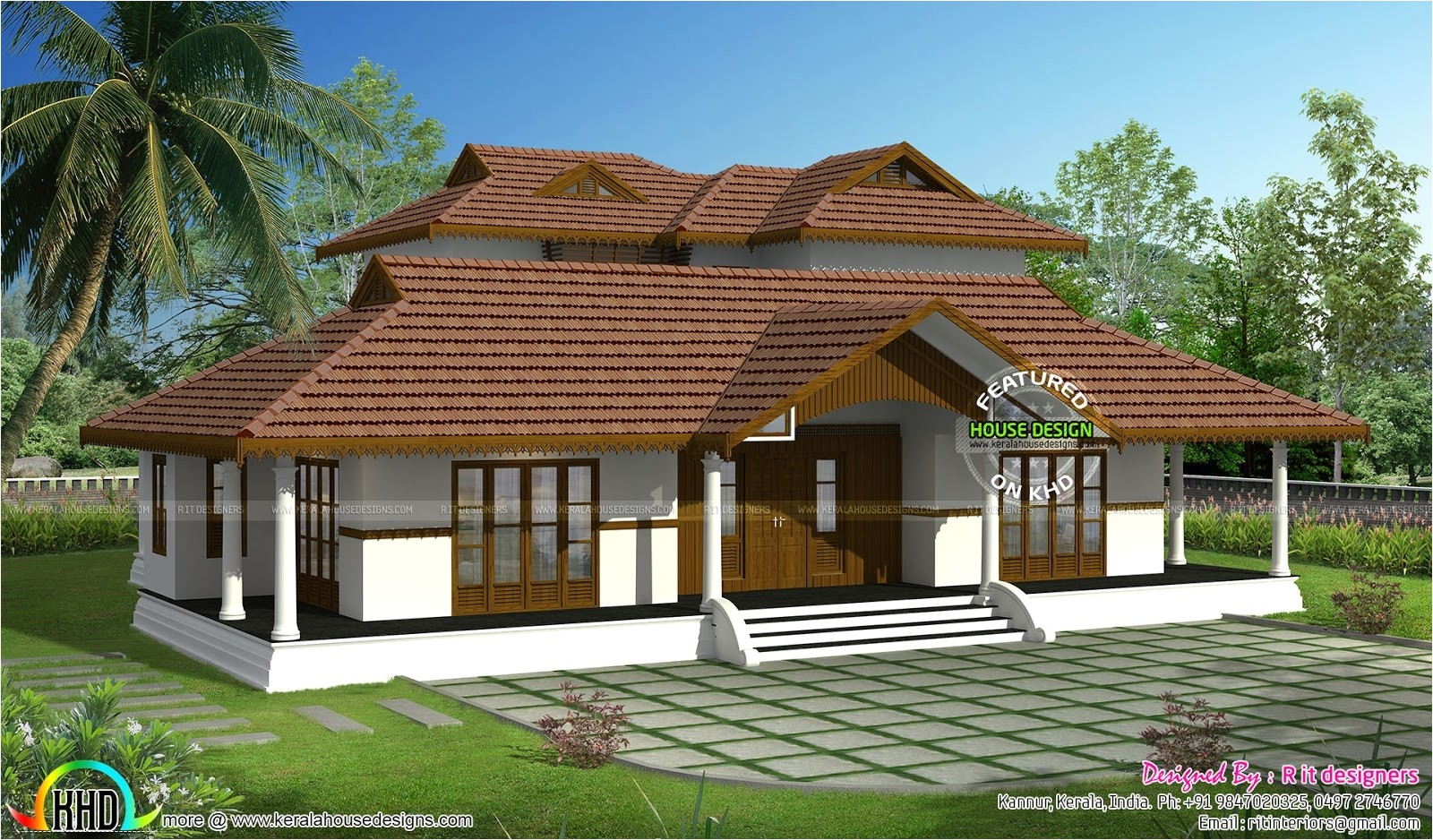 kerala traditional house plans with photos