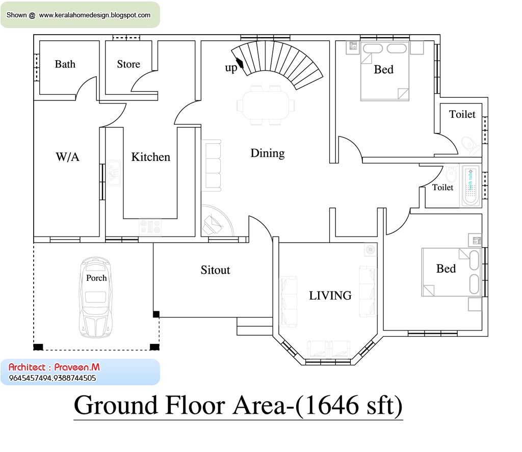 home plan and elevation 2637 sq ft