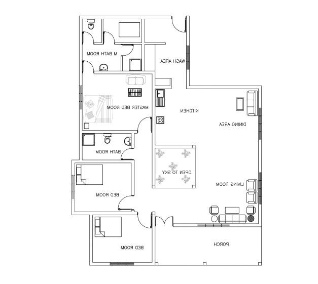 kerala house plans dwg free download