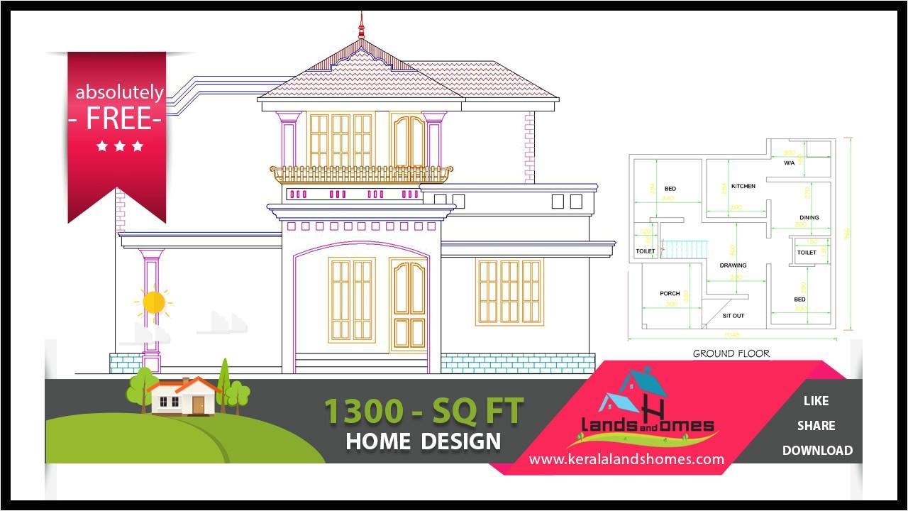 kerala style house plan free download