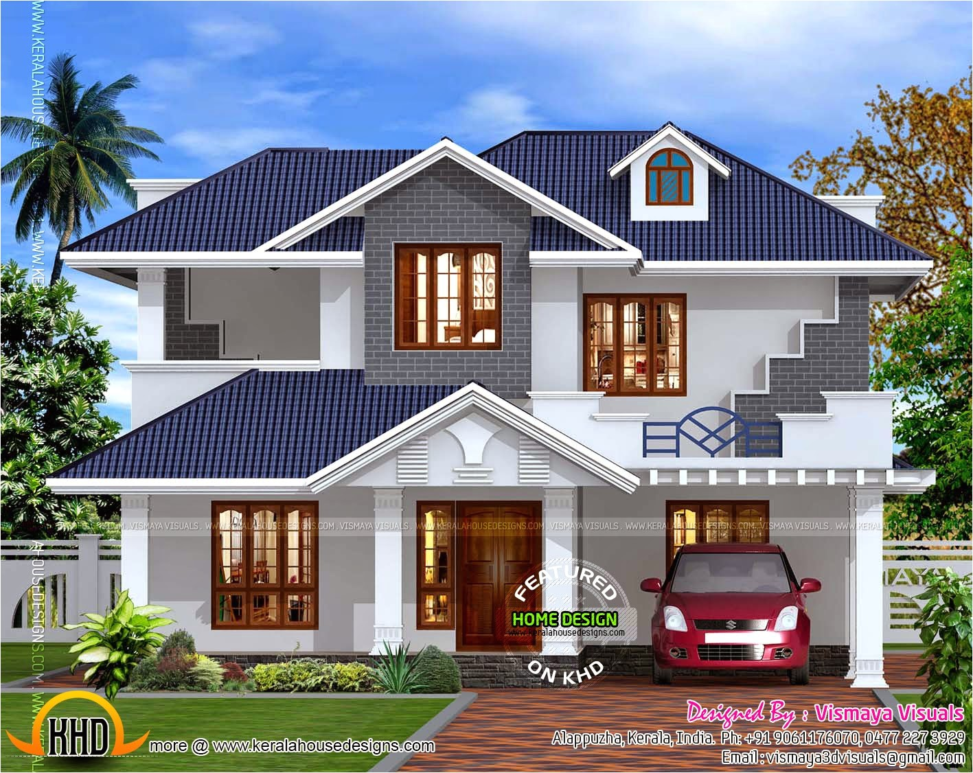 Kerala Style Home Design Plans Kerala Style Villa Exterior Kerala Home Design and Floor