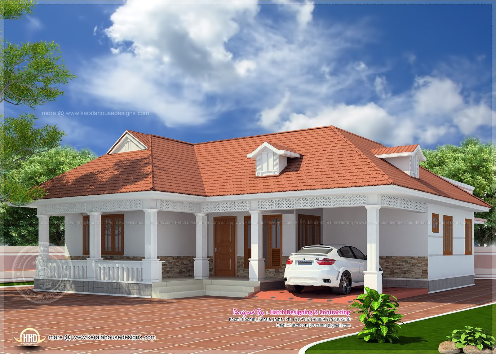 simple house plans kerala style 2