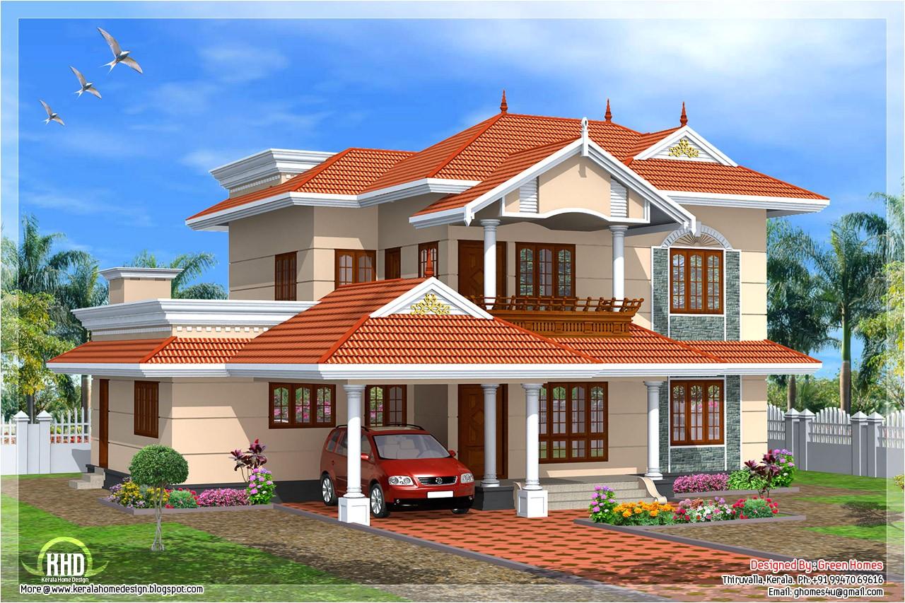 kerala style 4 bedroom home design