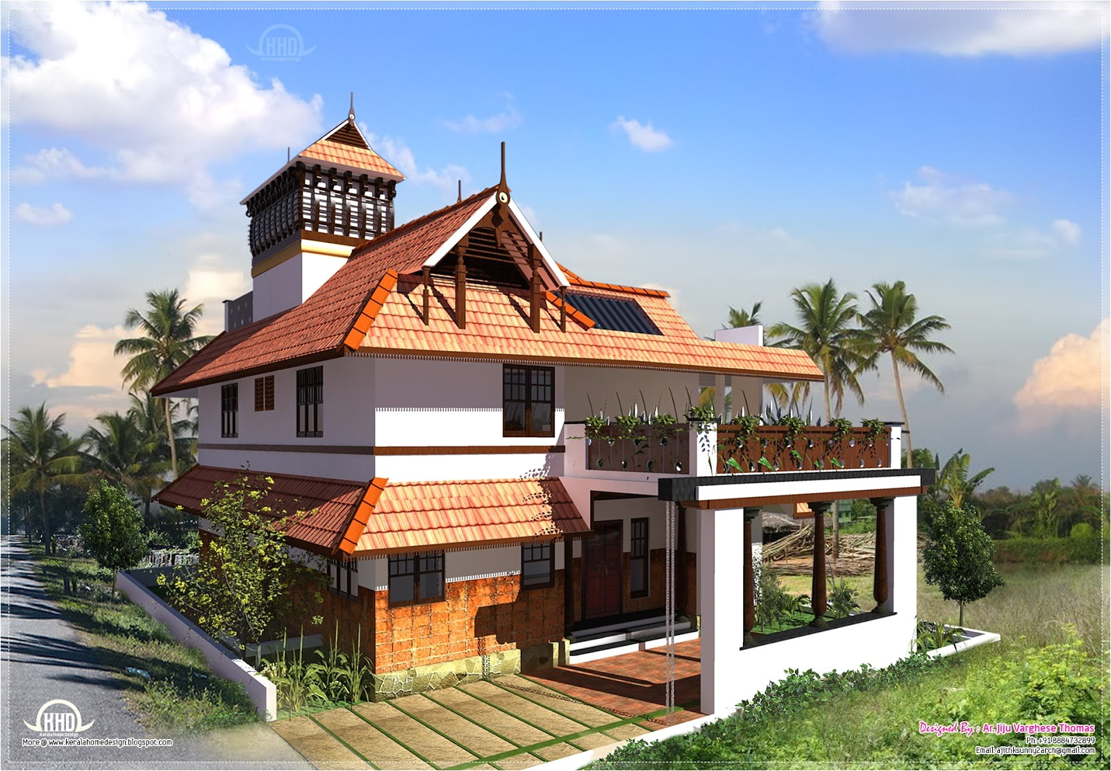 kerala traditional house plans design Kerala Traditional