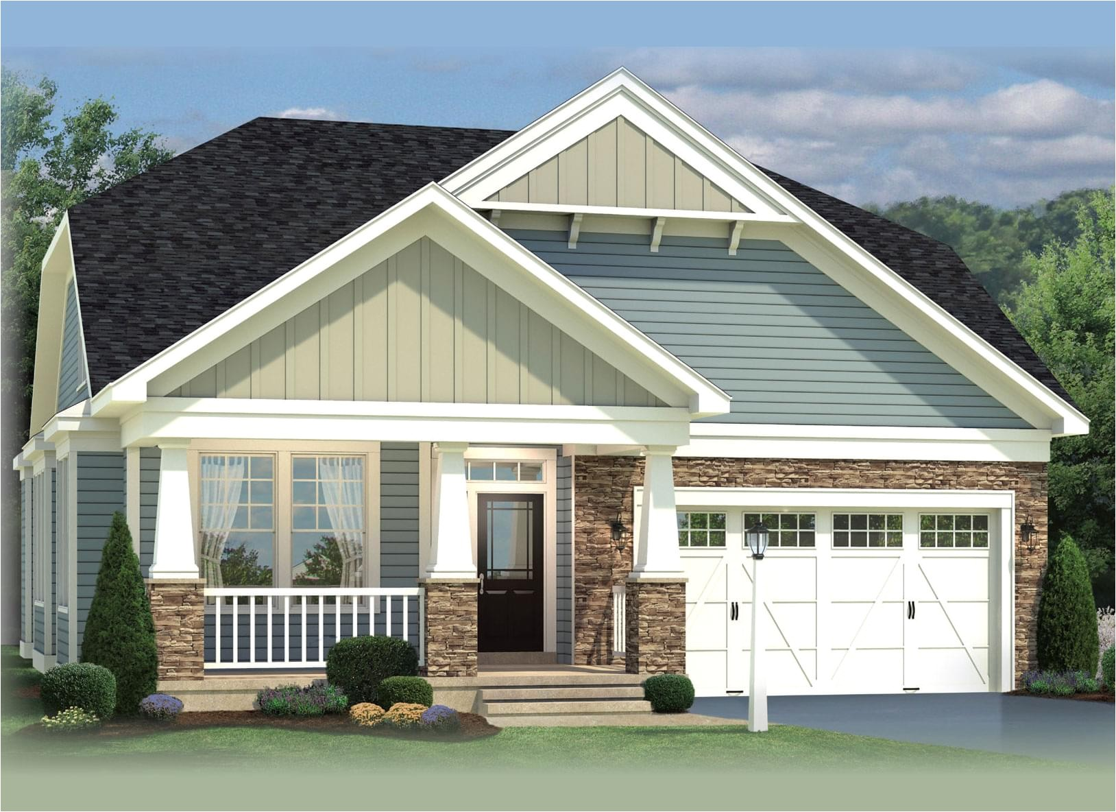 Koch Homes Floor Plans the Hanover New Home In Pasadena Md Harvest Ridge From