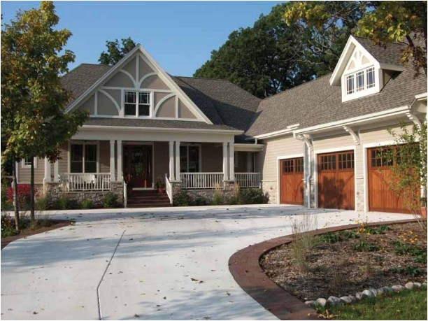 handsome 3 bedroom craftsman cottage home hq plans pictures