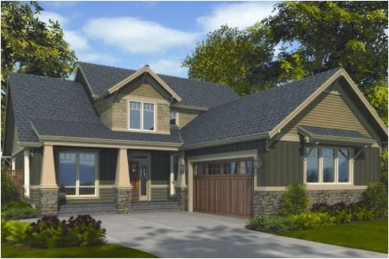 L Shaped Craftsman Home Plans House Plan 48 267 Craftsman L Shape House Layout