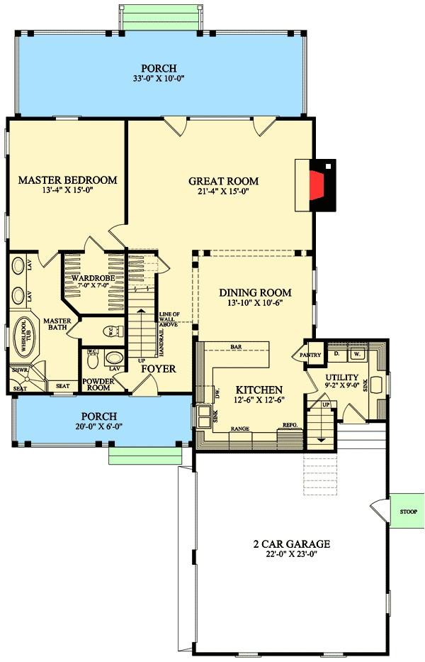 l shaped cape cod home plan 32598wp