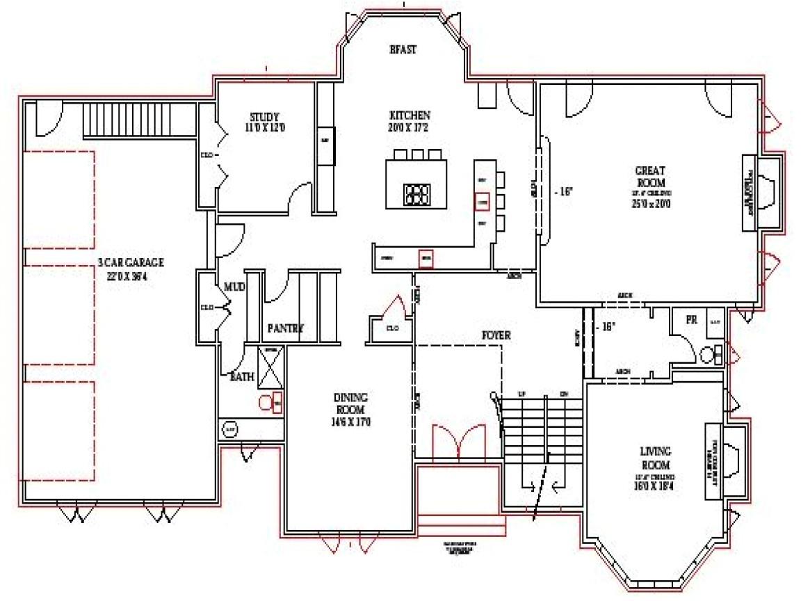 2c46135c0c223ada lake home floor plans lake house plans walkout basement