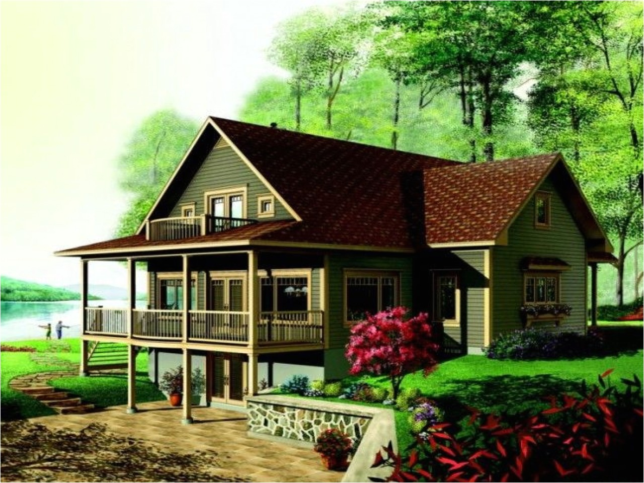 f57aee3508476ac1 lake house plans with porches lake house plans