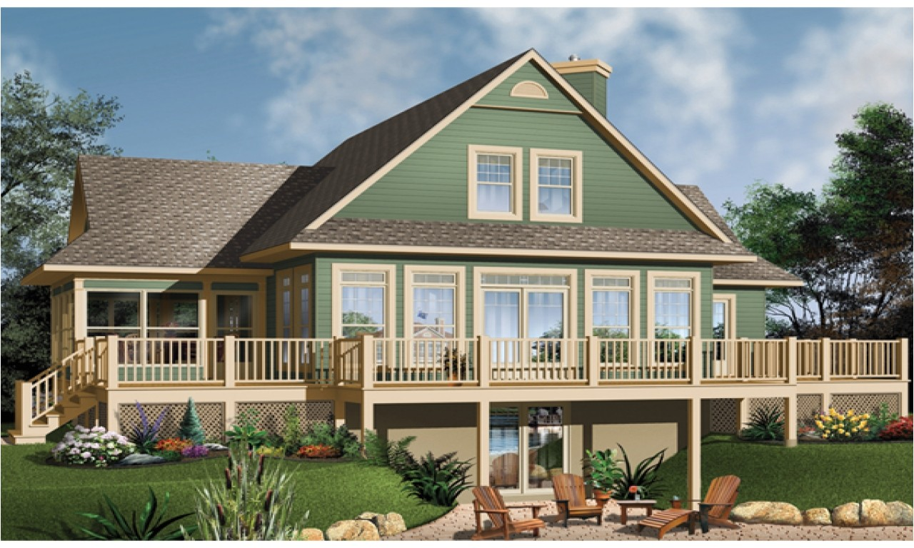48a8c602005759af lake house plans with screen porches lake house plans with basement