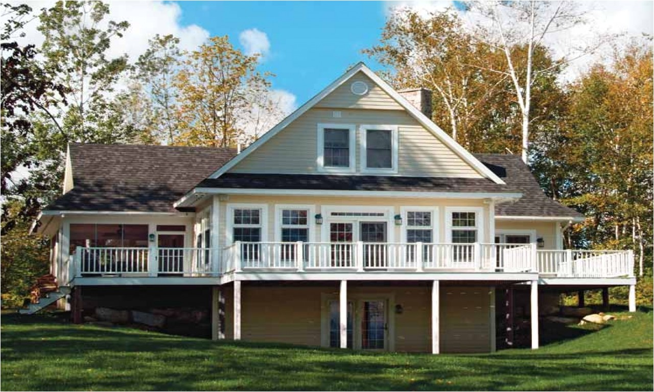 d361a0250aa8a291 lake house plans with wrap around porch lake house plans with basement