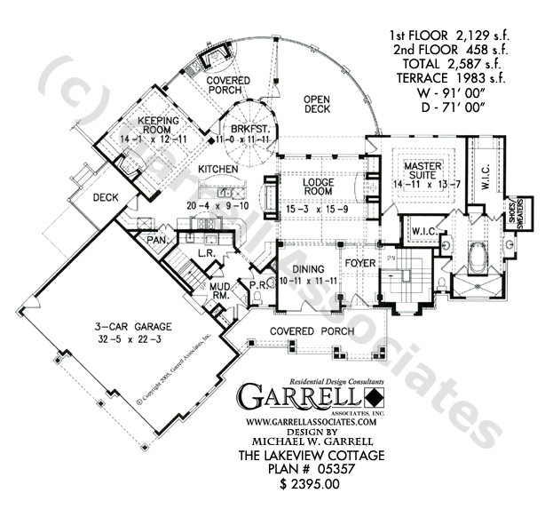 lakeview cottage house plan