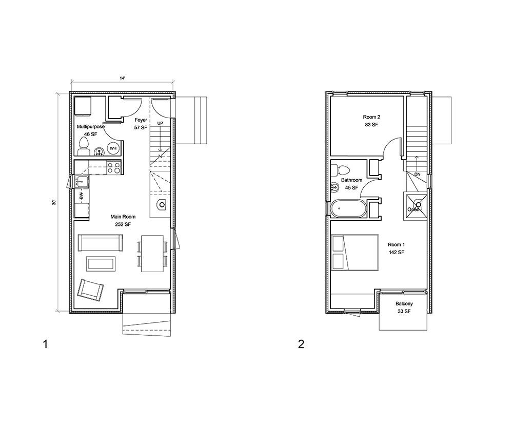 laneway house plans