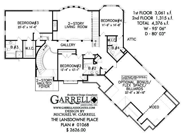 lansdowne place house plan
