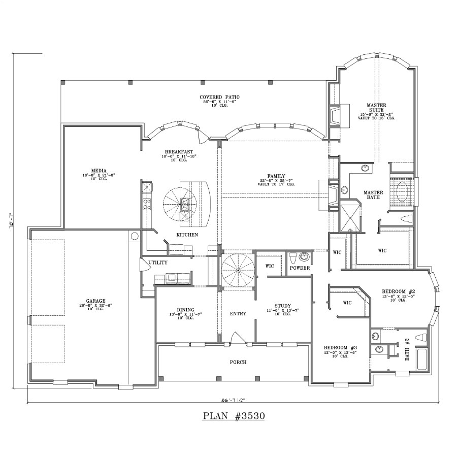 inspiring large one story house plans 7 large one story house plans with porches