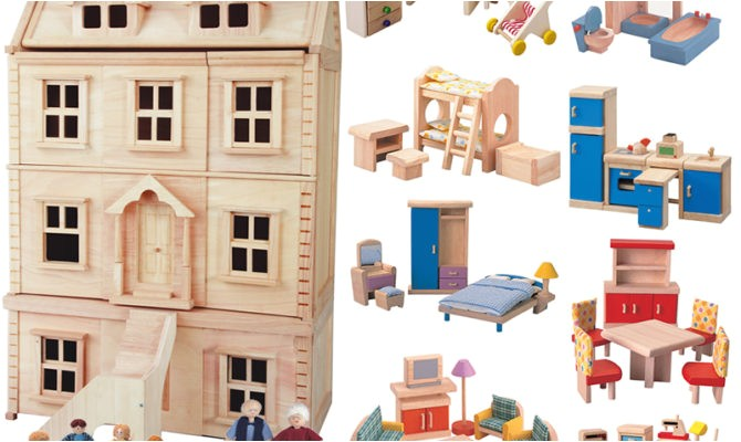 11 pictures large doll house plans
