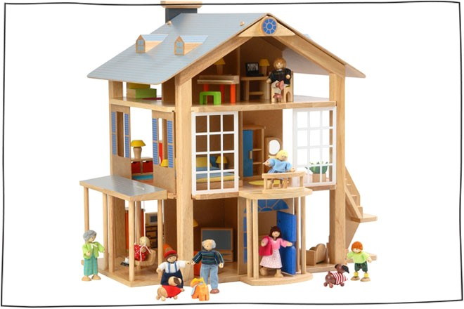 large doll house plans