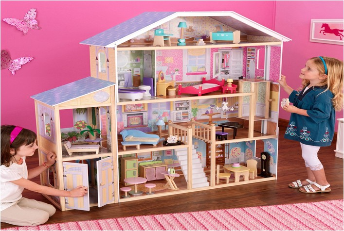 large dollhouse kits