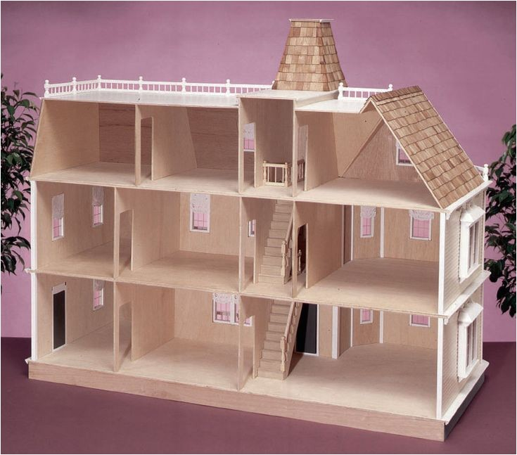 Large Doll House Plans Wooden Barbie Doll Houses Patterns Bing