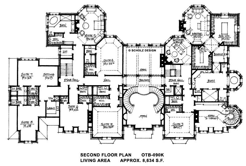 large mansion house plans