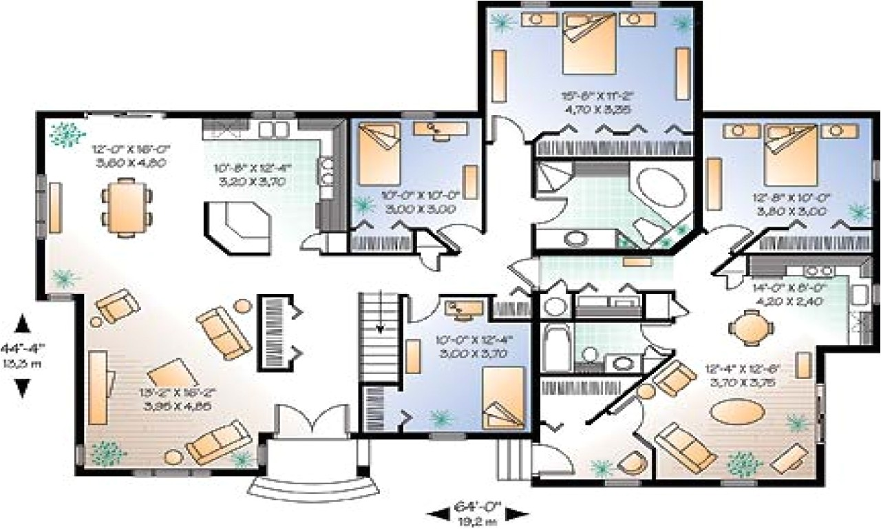 685031780f757fbe large floor plans luxury estate floor home house plans