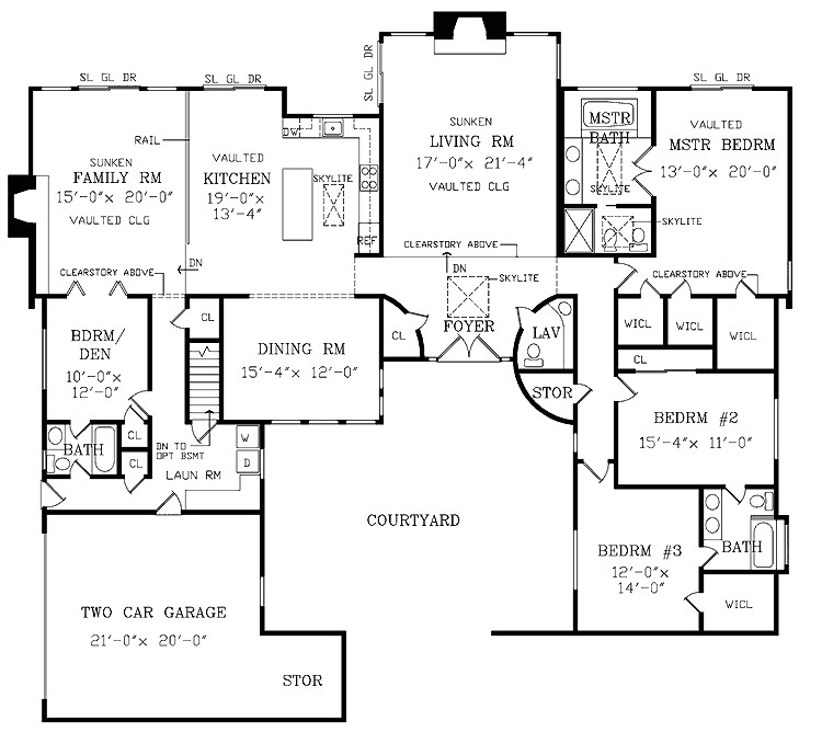 exceptional large ranch house plans 8 house plans pricing