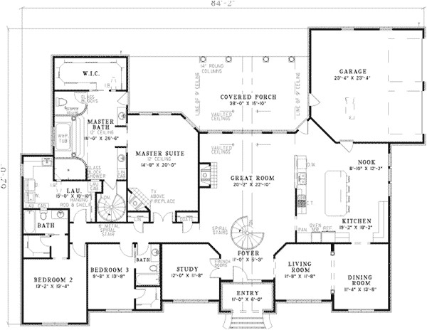 large ranch home plans