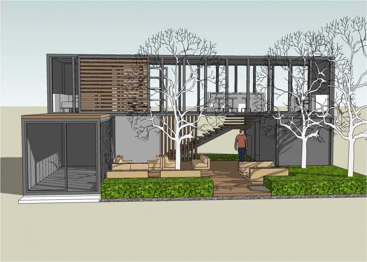 sketchup shipping container in shipping container home plans and drawings on home container