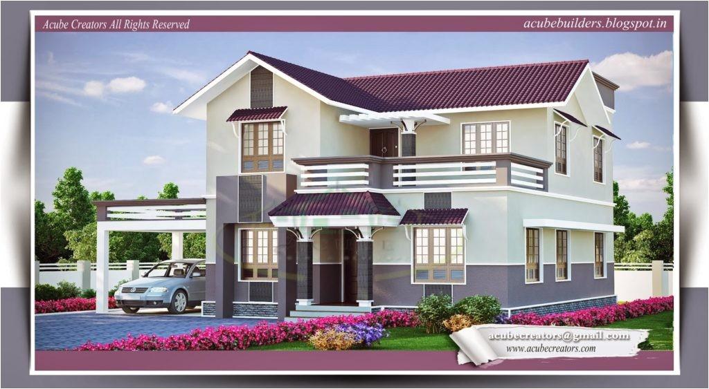 house plans kerala small