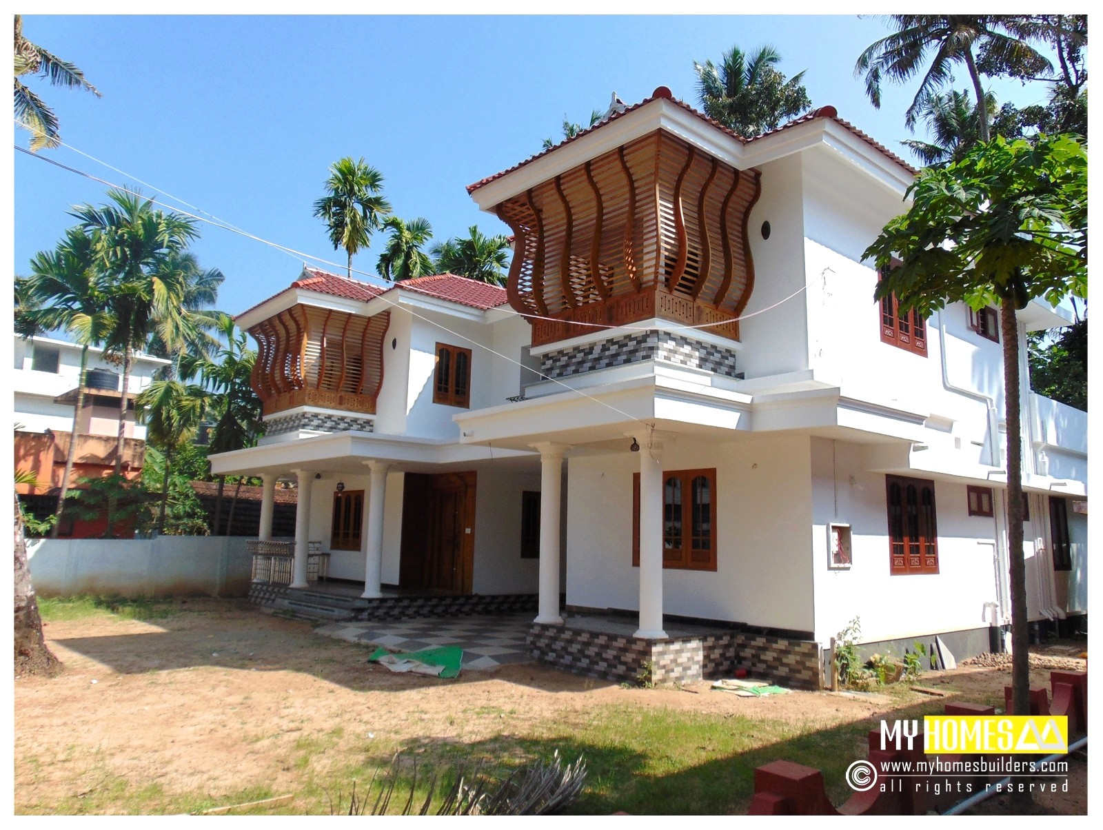 latest kerala style home plans