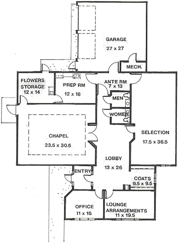 beautiful memorial plan funeral home 8 funeral home floor plan layout