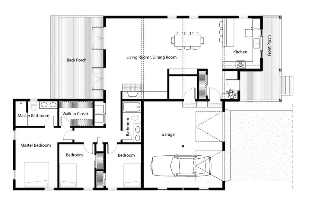 leed house plans