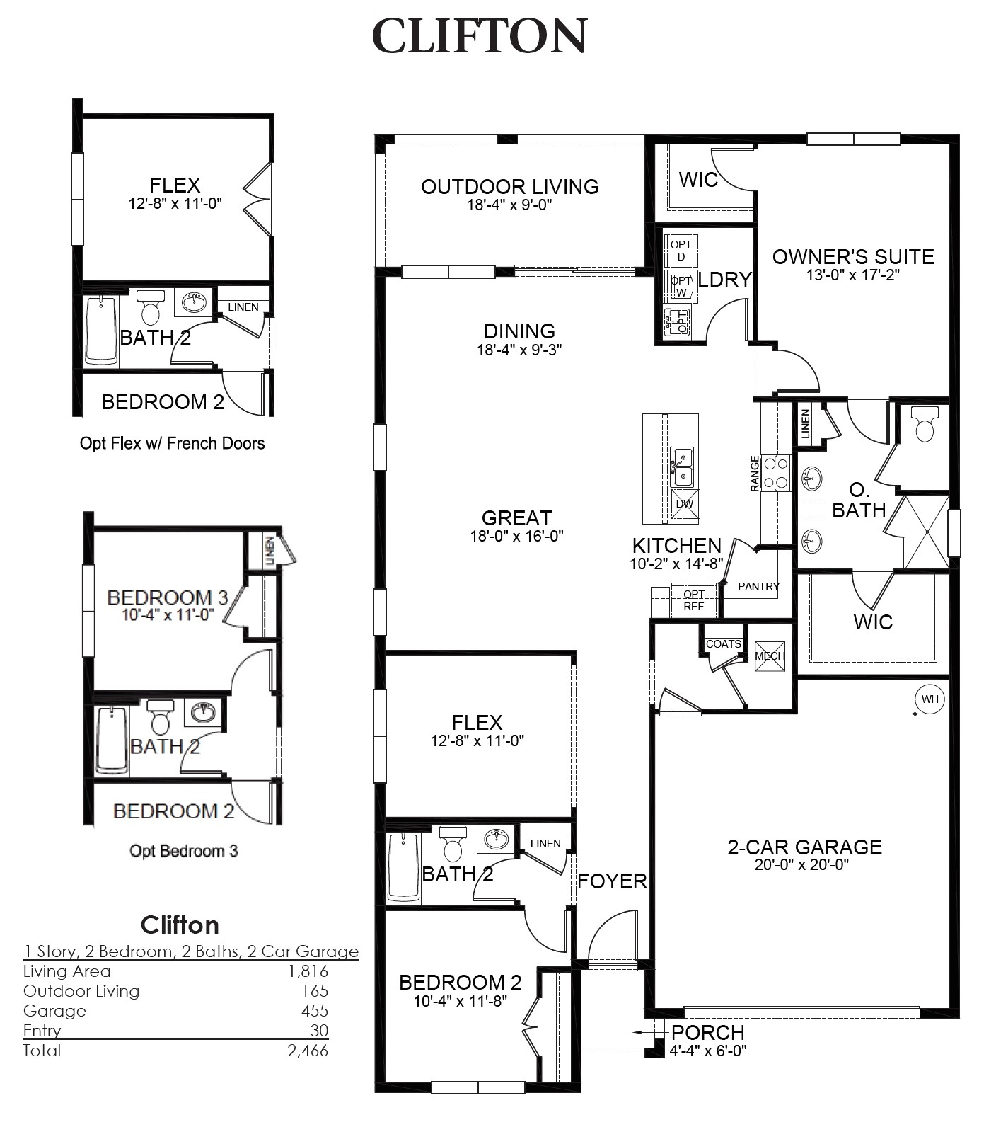 lennar home builders floor plans