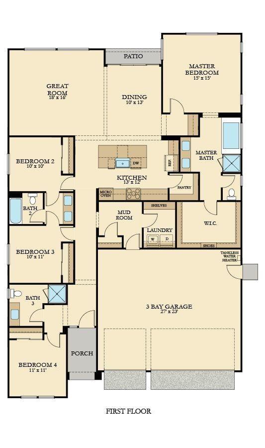 lennar floorplans single story