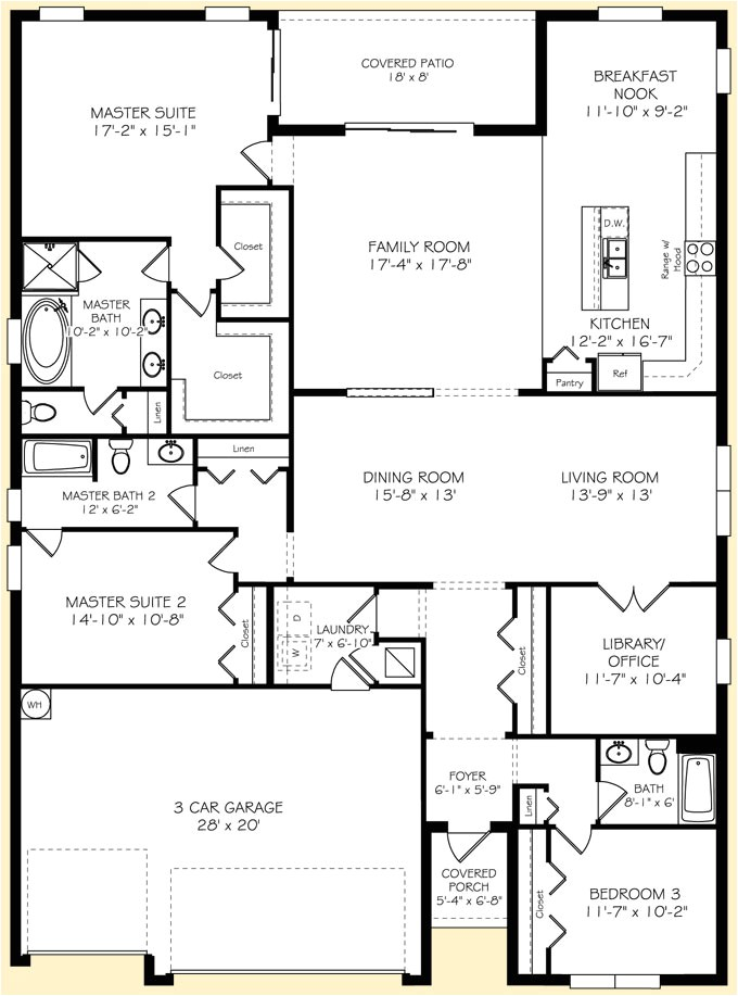 marvelous lennar home plans 8 lennar floor plans