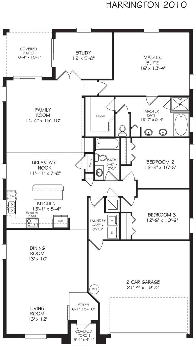 Lennar Homes Floor Plans Florida | plougonver.com