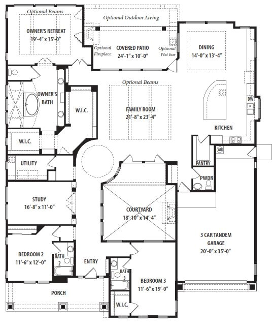 tw lewis fruition floor plan