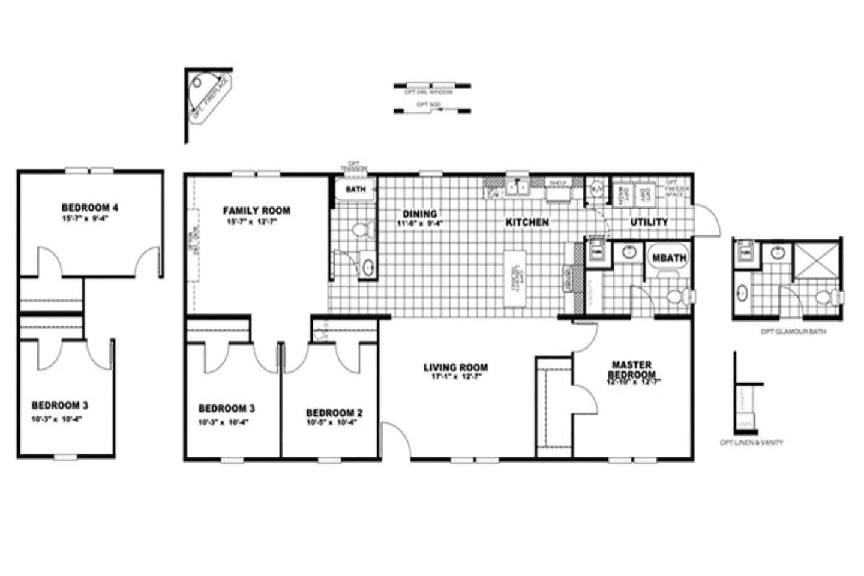 liberty mobile homes floor plans
