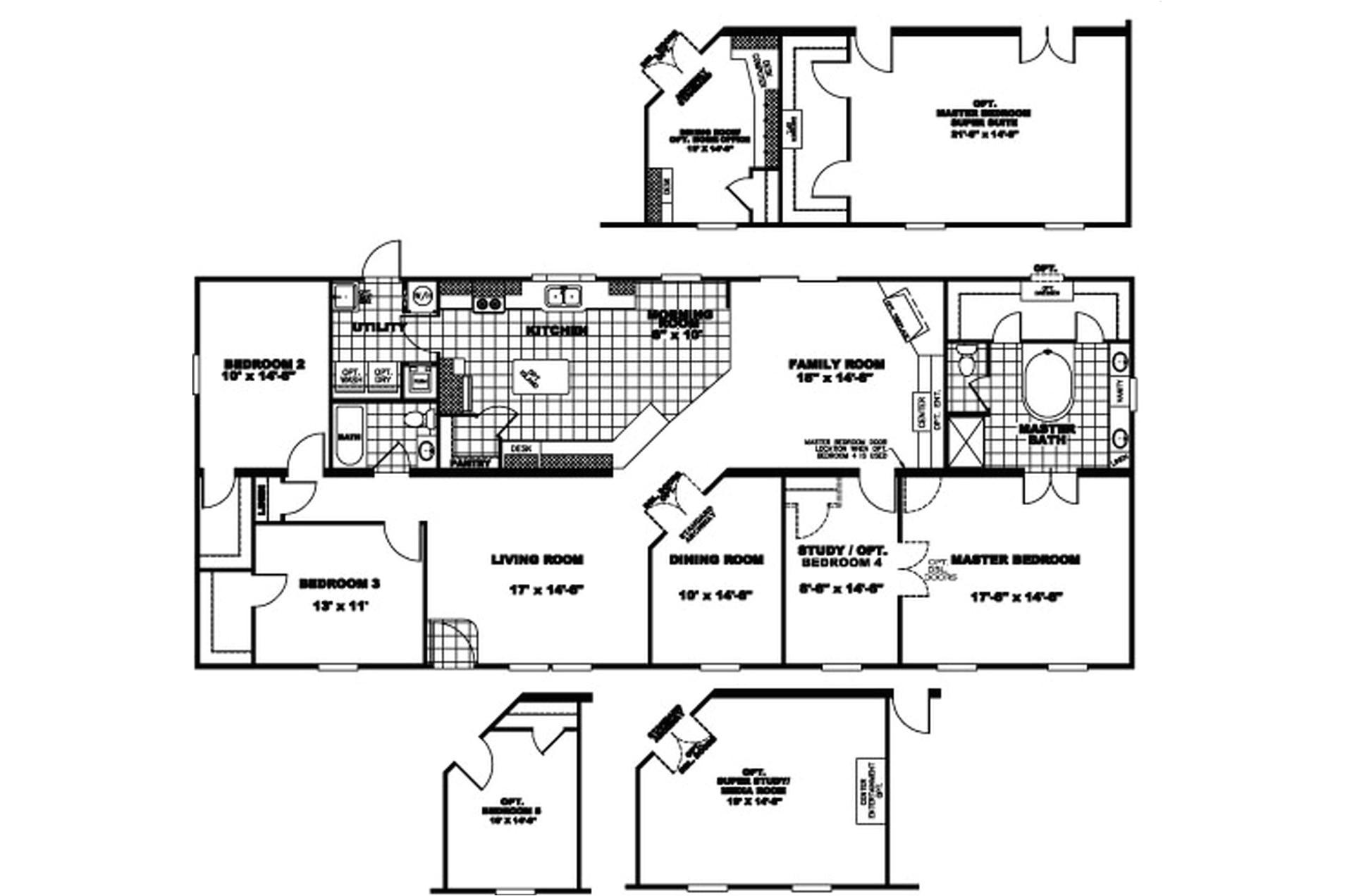 manufacturedhomefloorplan floorplan 3684 state tx city leesville