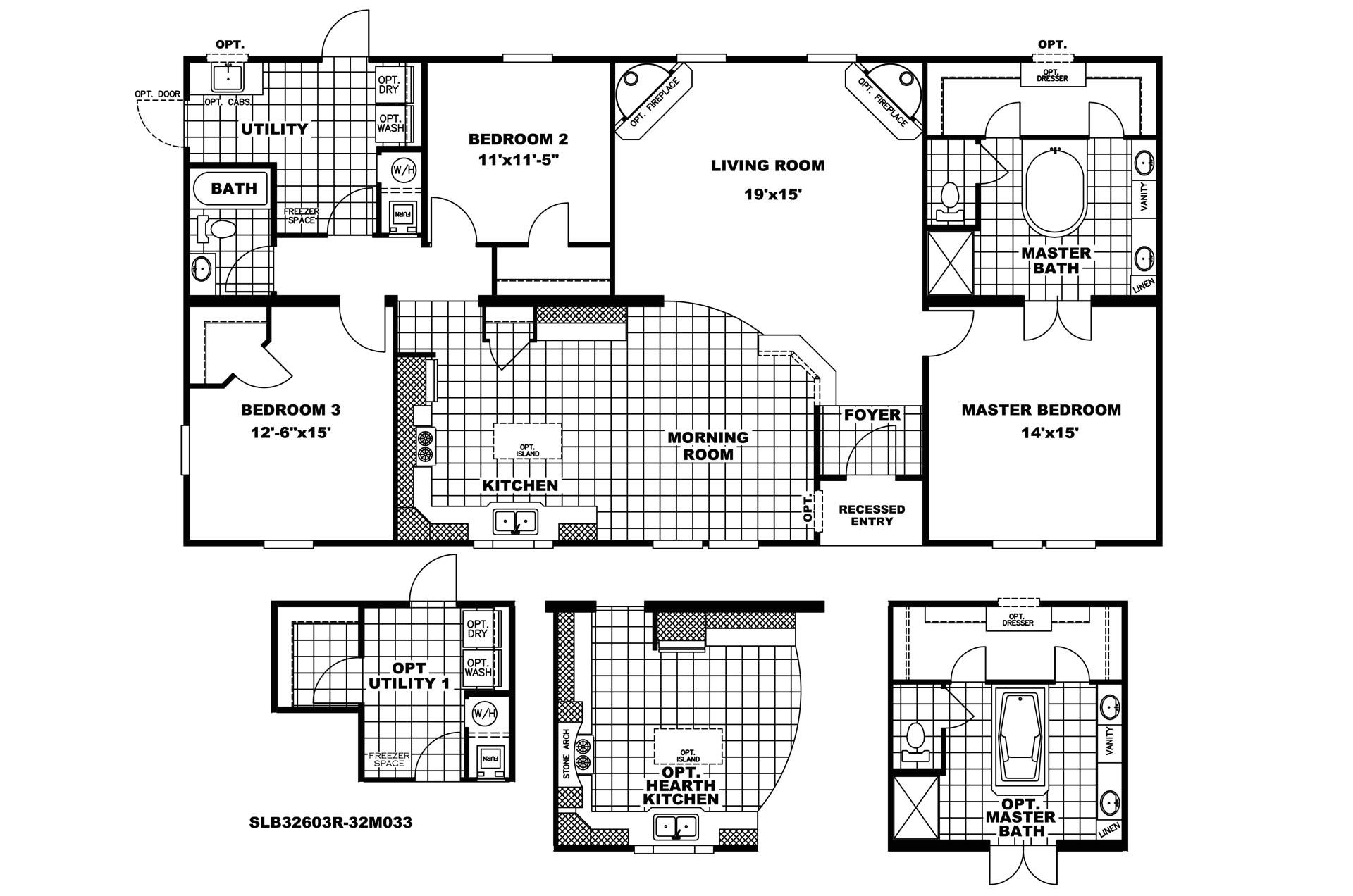 manufacturedhomefloorplan floorplan 3605