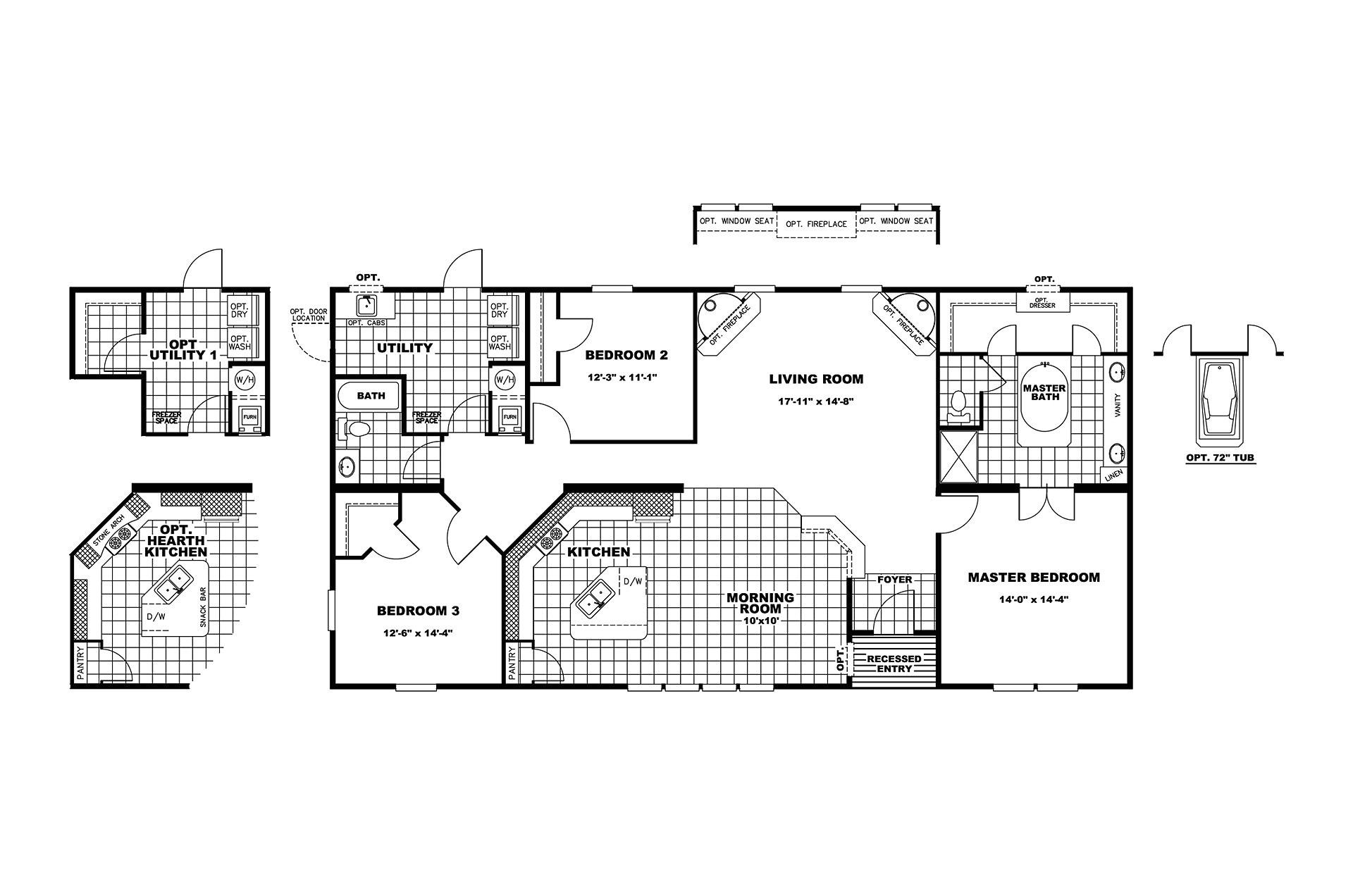 manufacturedhomefloorplan floorplan 5185 state tx city marshall