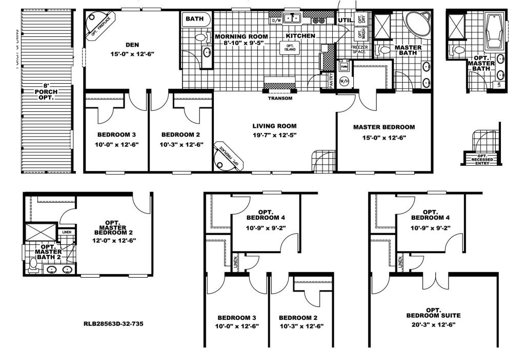 manufactured home floor plan clayton rio vista liberty 345932