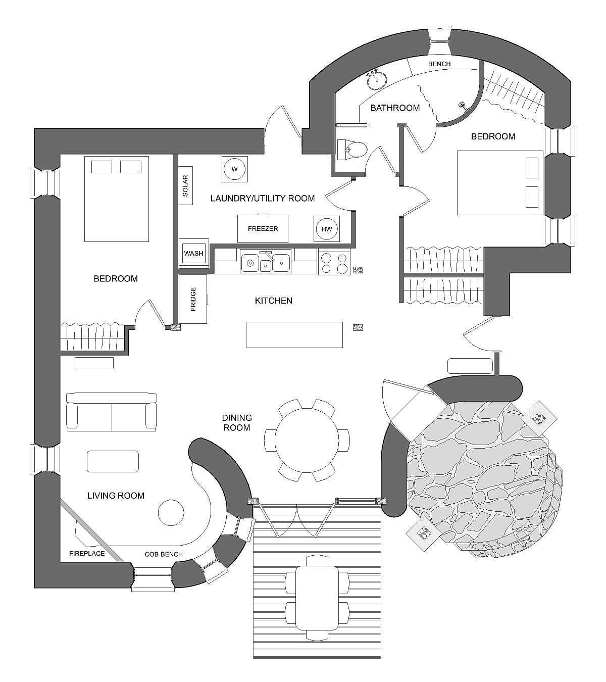 living off the grid house plans