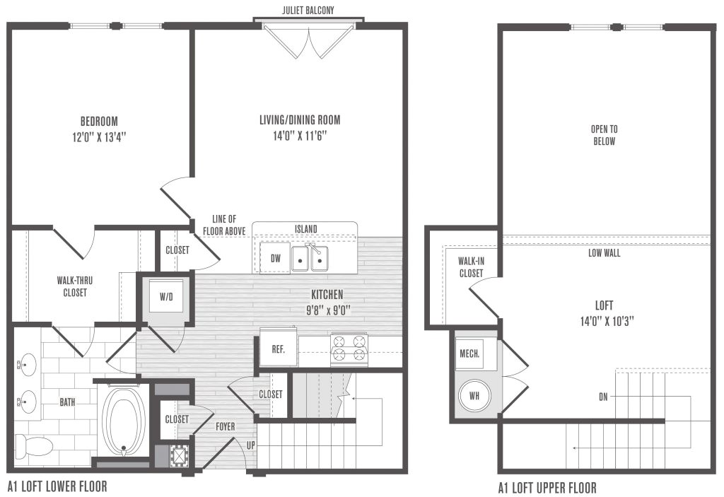 2 bedroom house plans with loft