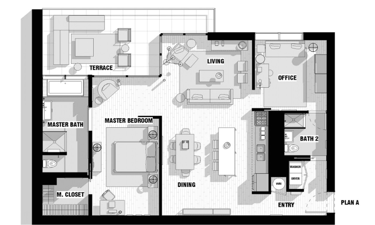 420dbc7dee78580d open floor plans with loft modern loft floor plans