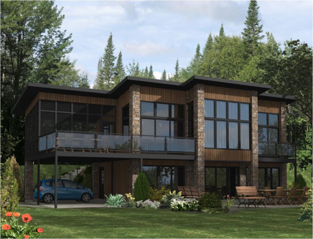 modern loft style house plans building