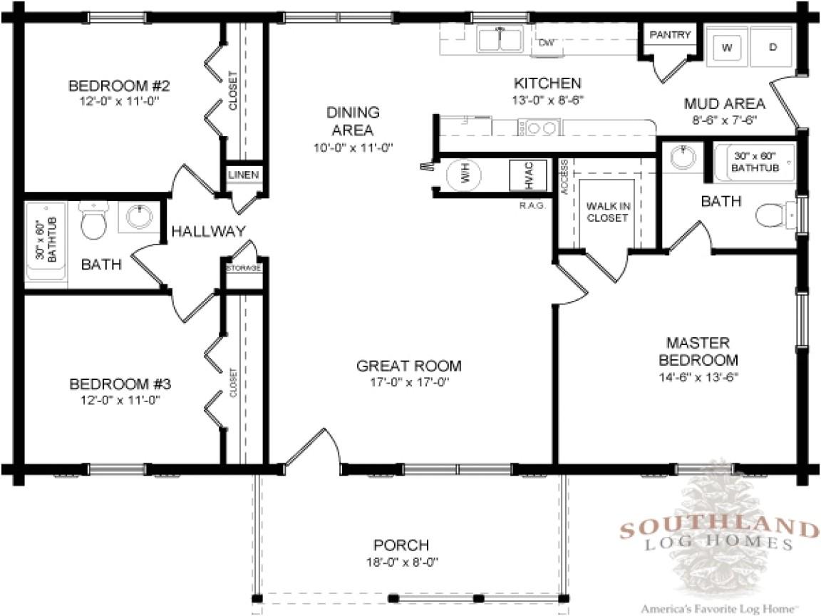 Log Cabin Modular Home Floor Plans Double Wide Log Mobile Home