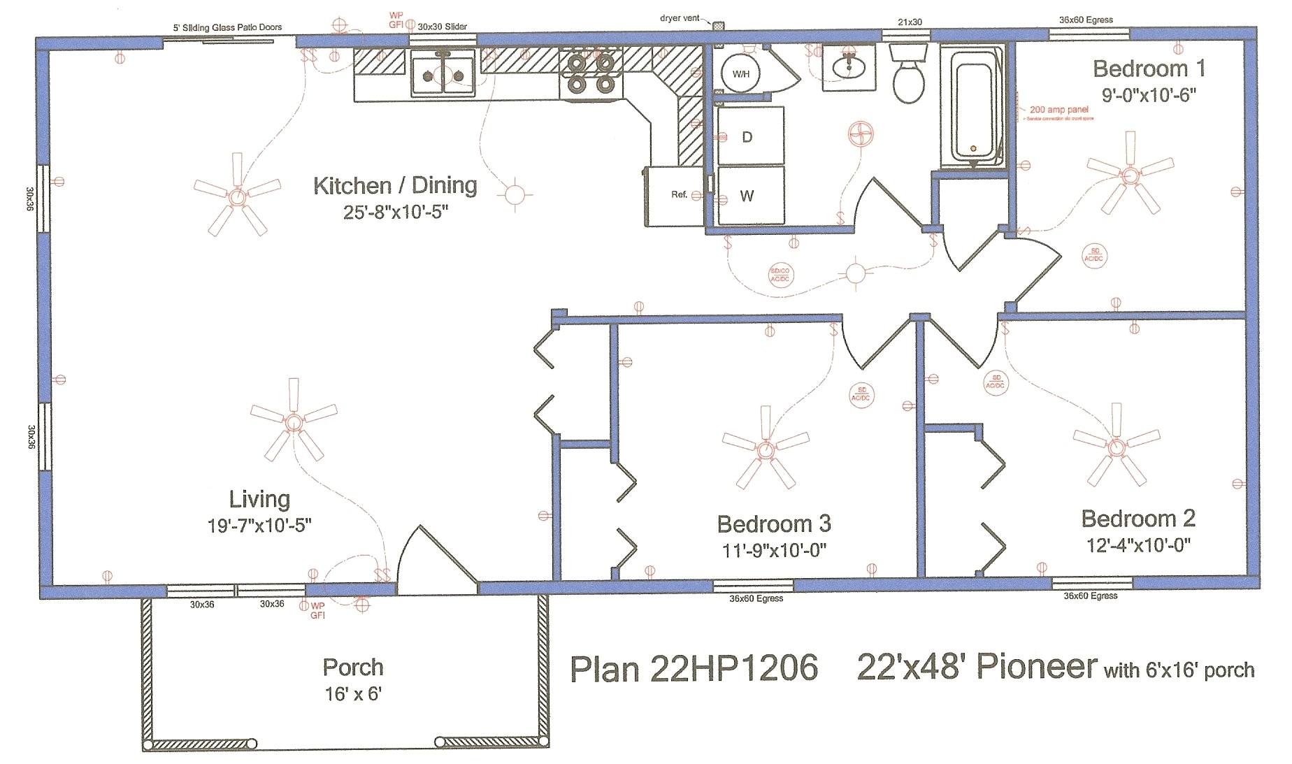 modular log home plans