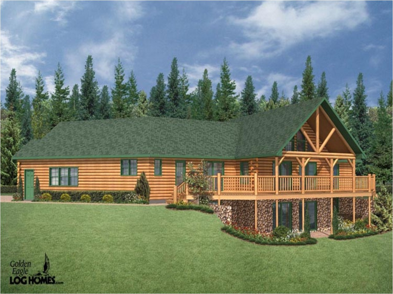 095b30eabd60d20b log cabin ranch style home plans simple log cabins